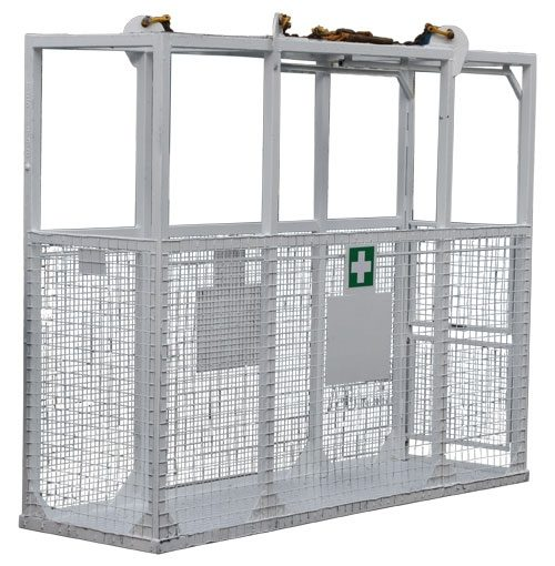 1075 Stretcher Cage