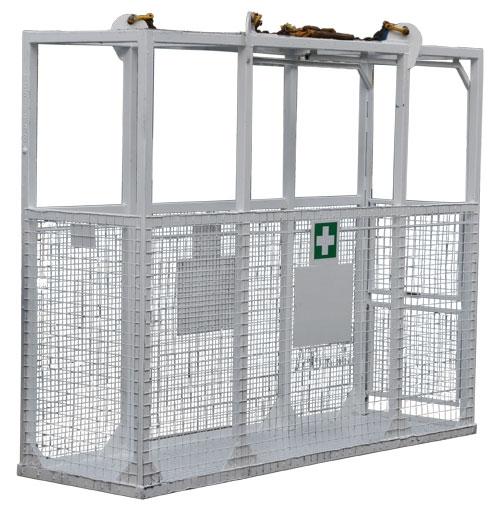 1075 Stretcher Cage